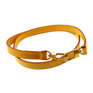 LOUIS-VUITTON-Logos-Shoulder-Strap-Brown-Leather-Handbag-Accessories-AK44529
