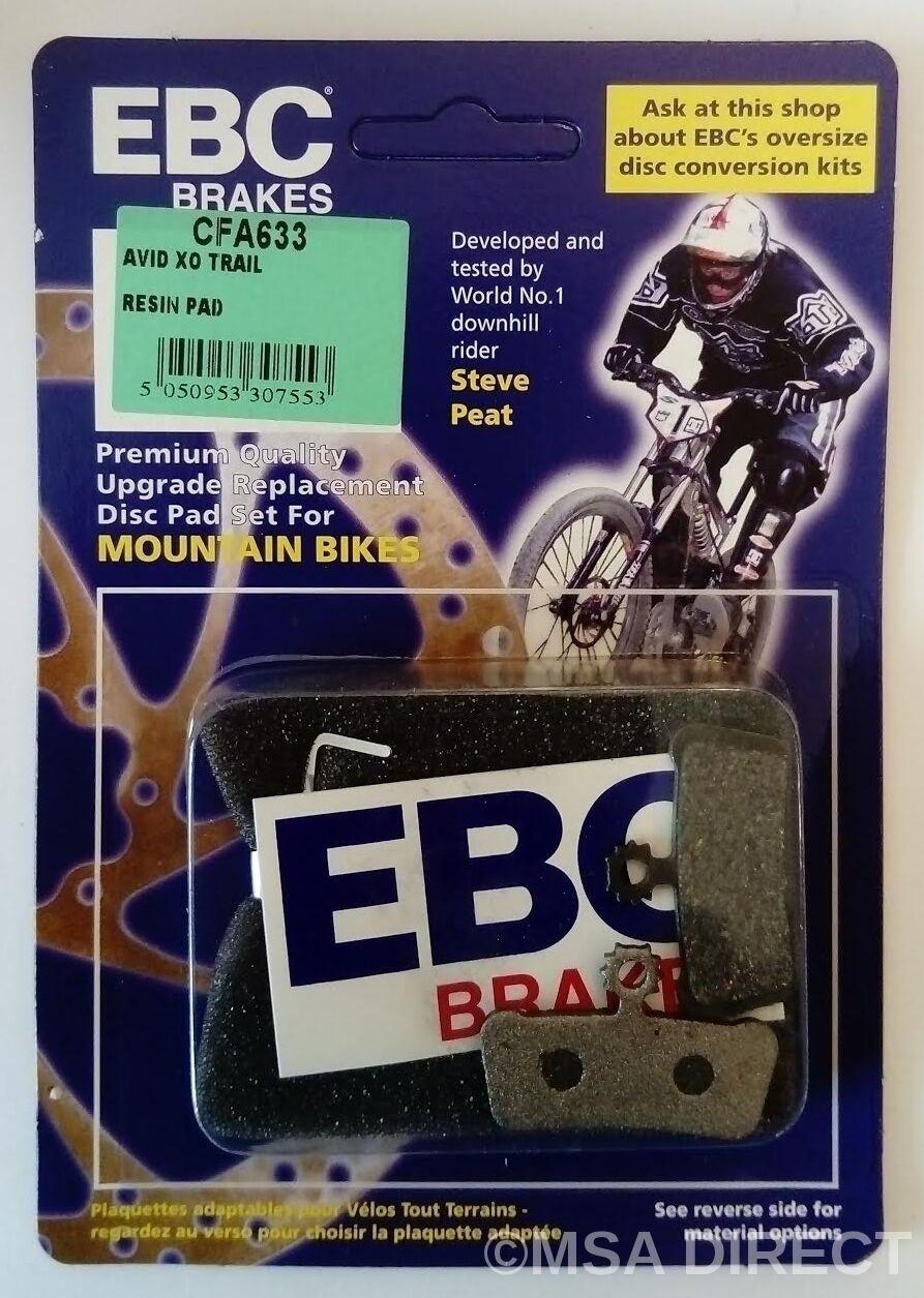 Sram Guide R / Rs/ Rsc Rsc Rsc EBC Résine Vélo Vtt Plaquette Frein à Disque (CFA633) 7f2eed