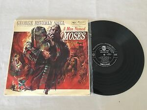GEORGE-BEVERLY-SHEA-A-MAN-NAMED-MOSES-SAMPLE-PROMO-AUSTRALIAN-RELEASE-LP