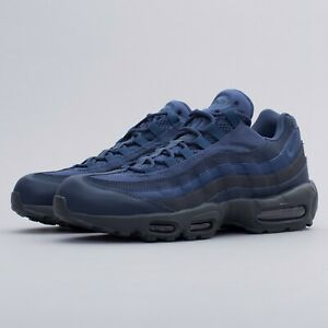 Nike Mens Air Max 95 Essential Squadron Blue Trainers Size Uk 6 7