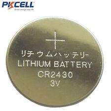 5x PKCELL 2430 CR2430 DL2430 ECR2430 3V Lithium Coin Cell Battery