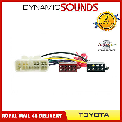 CT20TY02 Car Stereo ISO Wiring Harness Adaptor Lead for Toyota Landcruiser 2003/>