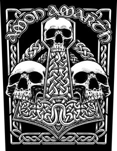 AMON-AMARTH-Rueckenaufnaeher-Backpatch-Skulls
