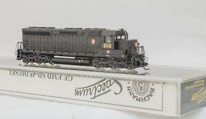 Bachmann-Spectrum-82754-N-Gauge-GE-SD-45-Diesel-Loco-6115-Pennsylvania-RR