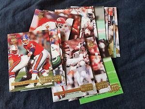 1992-Pro-Set-Gold-MVPs-Complete-15-Insert-Card-Set-John-Elway
