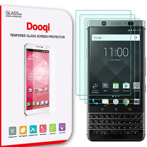 Details about 3X For Blackberry Keyone Premium Ultra Clear Tempered Glass  Screen Protector