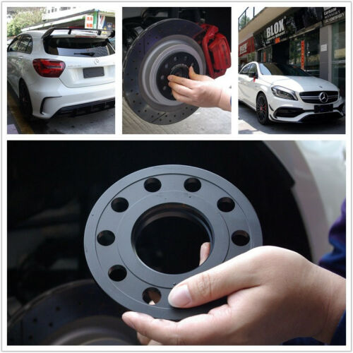 4x 12mm//15mm Wheel Spacers Mercedes W201 W123 W124 560SEL 190E 300 Hub Centric