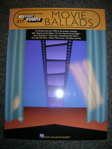 EZ PLAY Songbook #217 Movie Ballads