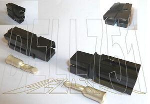 Negro Anderson 75Amp 10mm2 Powerpole Conector