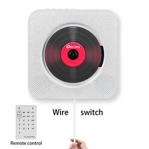 Bluetooth-Spieler-CD-Player-FM-MP3-Wandmontage-Audio-Sound-Stereo-Radio-Musik