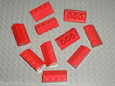 LEGO 3037 SLOPE ROOF TILE 2x4 RED VIOLET QTY x 10 BRAND NEW