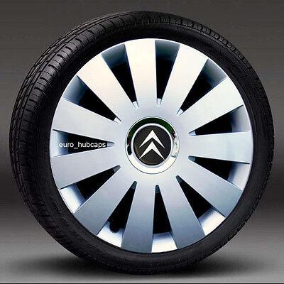 "Citroen C4 C5 C8 DISPATCH BERLINGO 16/"" Inch Wheel Trims Hubcaps New Set of 4 R16"