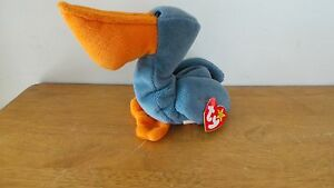 507cfdd35a3 Image is loading Scoop-the-Pelican-Ty-Beanie-Baby-DOB-July-
