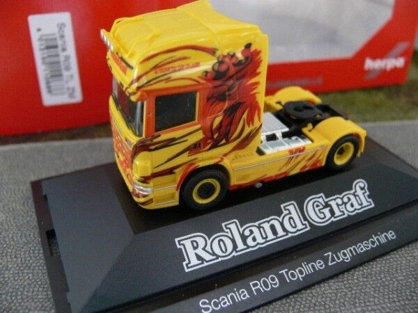 1 87 Herpa Scania R TL tracteur Roland Comte 110686