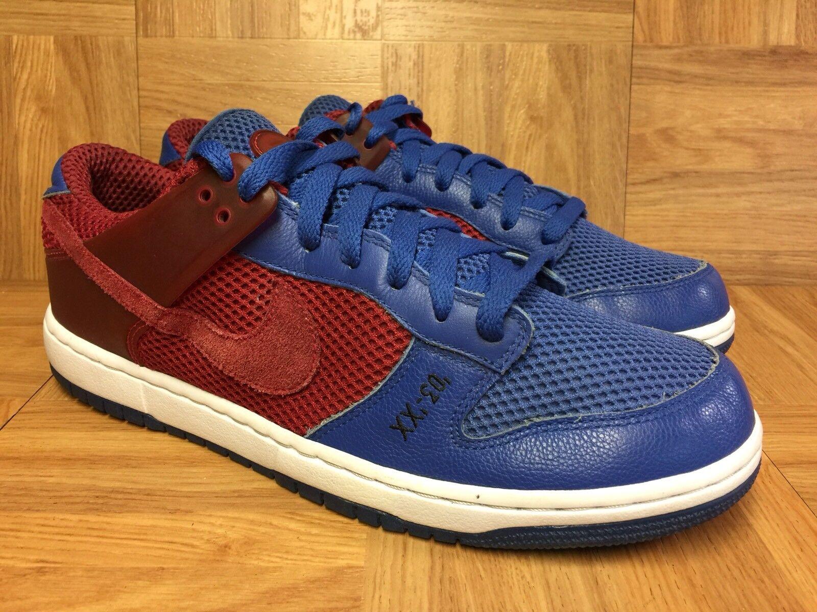 RARE Nike Zoom Dunkesto Dunkesto Dunkesto Varsity Red Dunk Presto Royal 10.5 Clippers 315207-661 233c4e