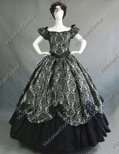 Victorian Costume Dresses & Skirts for Sale   Southern Belle Victorian Queen Dress Old West Ball Gown Reenactment Costumes 323 $165.00 AT vintagedancer.com