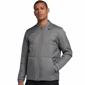 Nike-Synthetic-Fill-Core-Reversible-Jacket-Gray-932309-036-Men-039-s-Size-M-L-XL