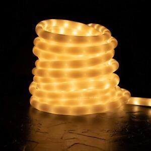 Image Is Loading Soft White Color D Led Rope Light 20ft