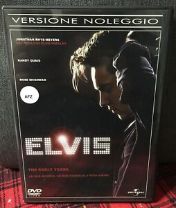 Elvis-The-Early-Years-DVD-Presley-D-Quaid-J-Rhys-Meyer-Ex-Noleggio-Come-Foto-N
