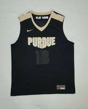 3d75bfd9 Men's Nike Purdue Boilermakers Gray Basketball Practice Dri-fit Tee ...