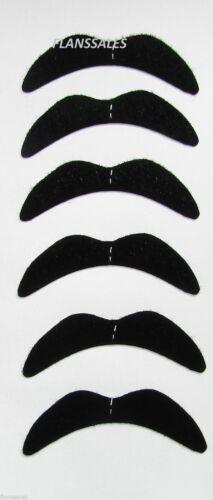 BLACK NOVELTY MEXICAN TASH BIKER 70/'S BLACK 118 FANCY DRESS MOUSTACHE