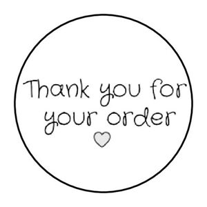 "30 HELLO KITTY THANK YOU THANKS ENVELOPE SEALS LABELS STICKERS FAVORS 1.5/"" ROUND"
