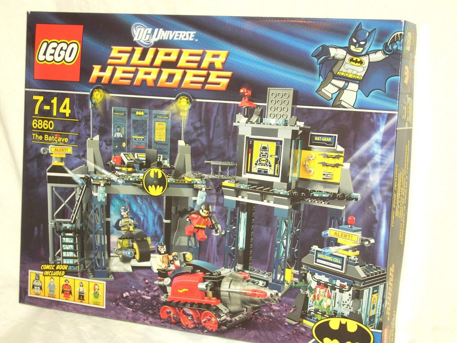 LEGO SUPER HEROES 6860 - THE BATCAVE                NEW AND SEALED