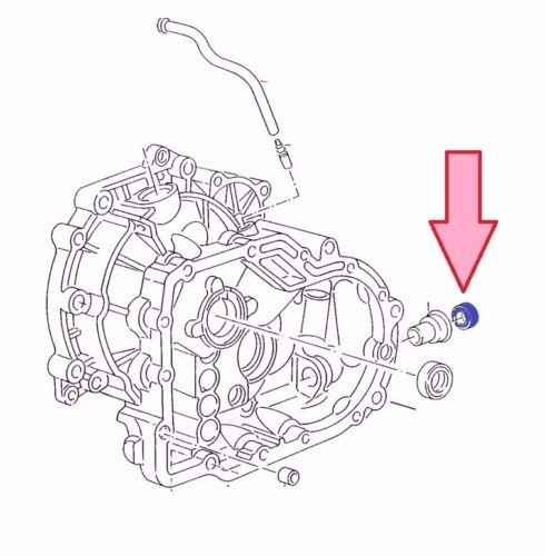 Passat 32B Audi 80 6X1, 6E1 Wellendichtring // Simmering Schaltwelle LUPO