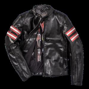 Dainese-Rapida72-Black-Leather-Retro-Jacket-Motorcycle-Jacket-New