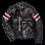 Dainese-Rapida72-Black-Leather-Retro-Jacket-Motorcycle-Jacket-New miniature 1