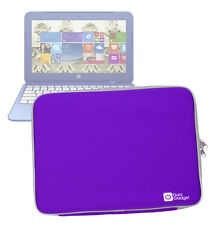 Purple Water/Impact-Resistant Neoprene Case/Pouch/Cover for HP Stream 11