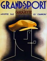 2962.grand Sport Hat Men French Casquette Fashion Poster.modern Home Art Decor