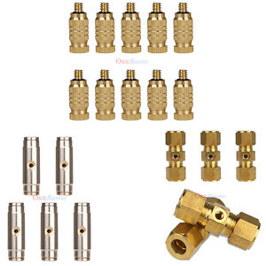 Low-High-pressure-Cooling-10-Brass-Misting-Nozzles-5-Slip-Lok-Coupling-Tees