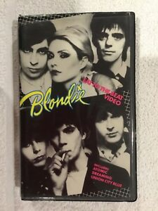 VHS-Video-Tape-Blondie-Eat-into-the-Beat-Video