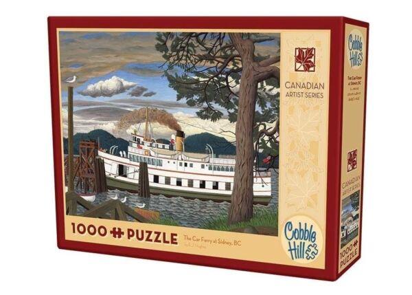 - Cobblehill Puzzles 1000 Pièces-le Ferry Voiture à Sidney Bc Cbl51016 Jigsaw