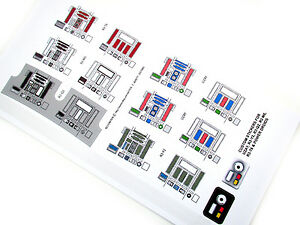 CUSTOM DIE CUT STICKERS For STAR WARS RD CUSTOM VARIATIONS UZAY - Star wars custom die cut stickers