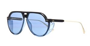90259cfbcff Image is loading Christian-Dior-DIORCLUB3-black-blue-blue-D51-KU-