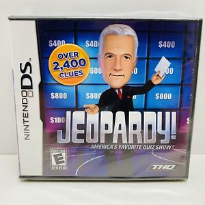 NEW-Jeopardy! Nintendo DS-DSi-Lite-XL-3DS-Sealed! Alex Trebek - Free Shipping!