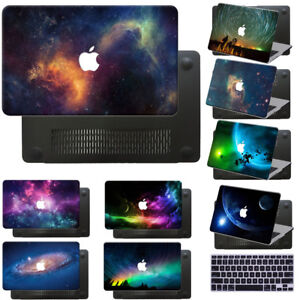 """Hard Rubberized Galaxy Painting Case For Macbook Pro 13/""""15/""""Touch Bar//Air //Retina"""