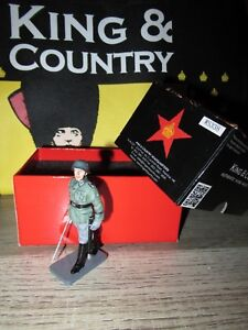 Boite King & Country Neuf = Ws338 - Soldat / Officier Allemand Defilant Sabre