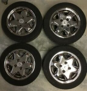 Honda Accord Factory Rims >> Details About Set 94 95 96 97 Honda Accord Oem Factory 4599999 Original Wheels Rims With Tires