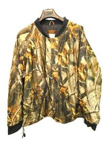 Stearns-XL-RealTree-Hardwood-Camo-Coat-Insulated-Jacket-Hunting-Camouflage-Snap