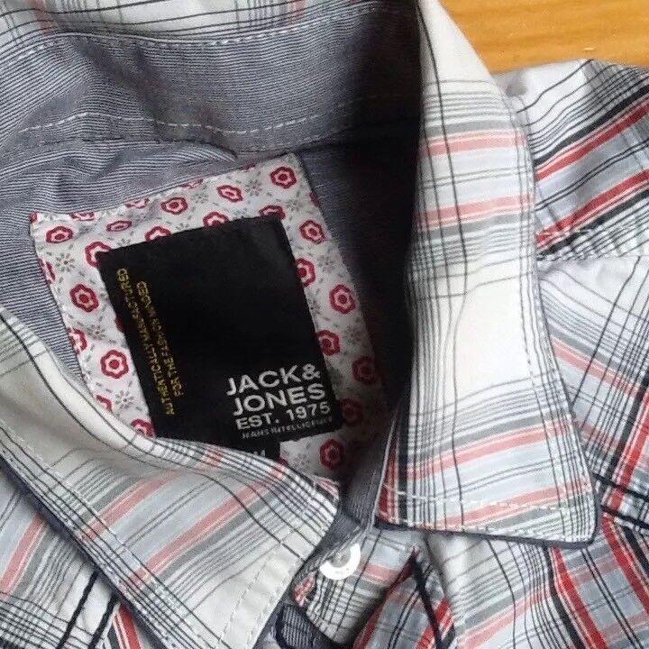 Camisa Manga De Jack&jones Talla M. Manga Camisa Corta 34f898