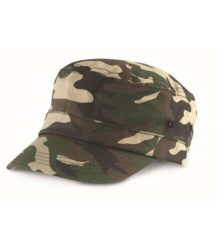 Result Urban Camo Cap Headwear Camouflage Army Hat Unisex One Size Baseball