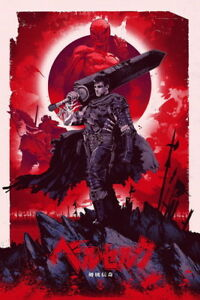 Image Is Loading 034 Berserk Gatzu Blood Fight Sword Japan Anime