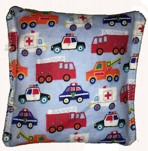 Rescue Trucks Pack Hot Cold You Pick A Scent Microwave Heating Pad Reusable