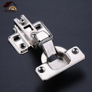Details About Cabinet Hinge Door Hydraulic Hinges Damper Buffer Close  Cupboard Full/Half/Embed