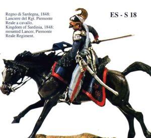 Copieux Ss Eurosoldiers 54mm - Lanciere Reggimento Piemonte Reale (1848)