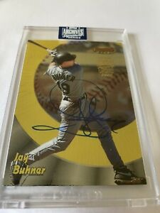 Jay-Buhner-2020-TOPPS-ARCHIVES-SIGNATURE-SERIES-BOWMANS-BEST-GOLD-FOIL-AUTO