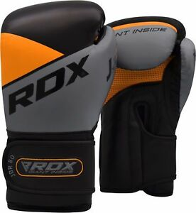 RDX-Kinder-Boxhandschuhe-6oz-Leder-MMA-Mitts-Training-Boxing-Gloves-Muay-Thai-DE